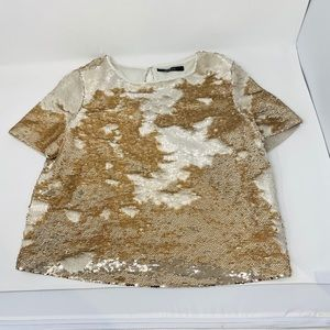 ARK & Co.**Color-Changing Sequined Top**Small $125